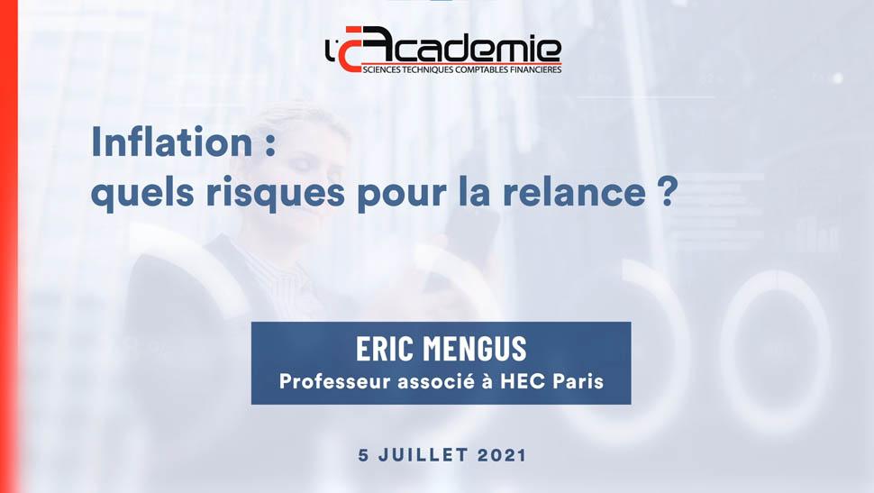 Les Entretiens de l'Académie : Eric Mengus