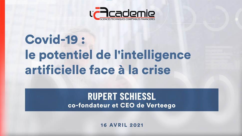 Les Entretiens de l'Académie : Rupert Schiessl